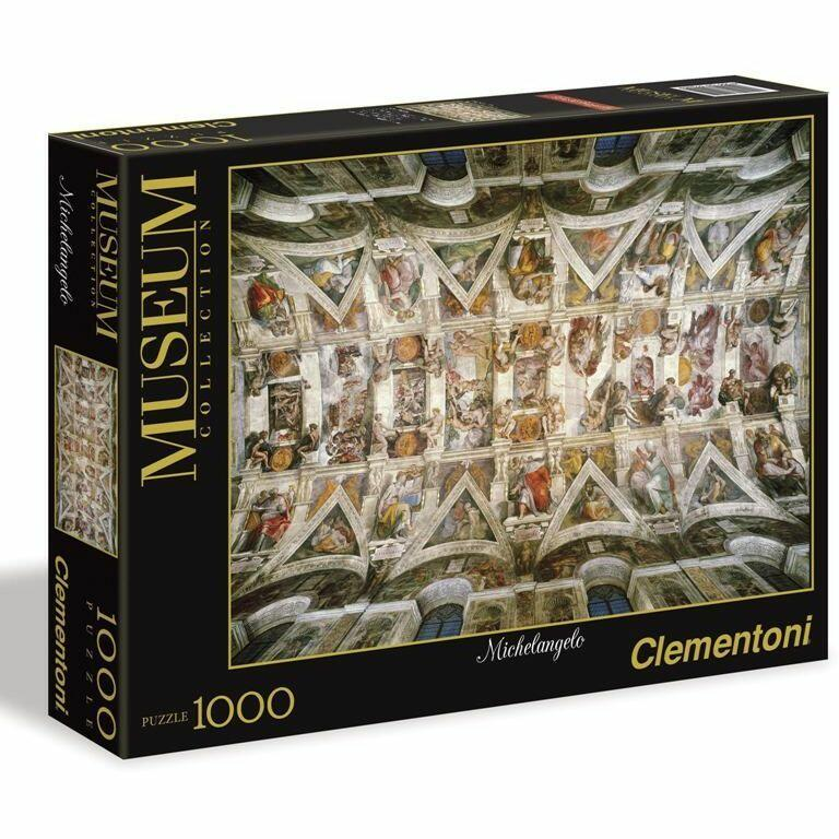 Michelangelo - Volta della Cappella Sistina - Puzzle 1000pz - Clementoni 39225