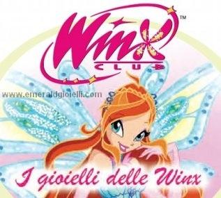 WCL1074 Stella Collana in argento Winx