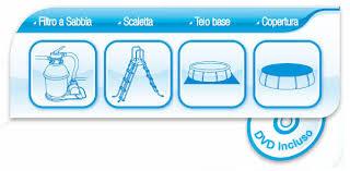 Piscina Bestway autoportante rotonda BESTWAY 57242 457 x 122 e pompa sabbia