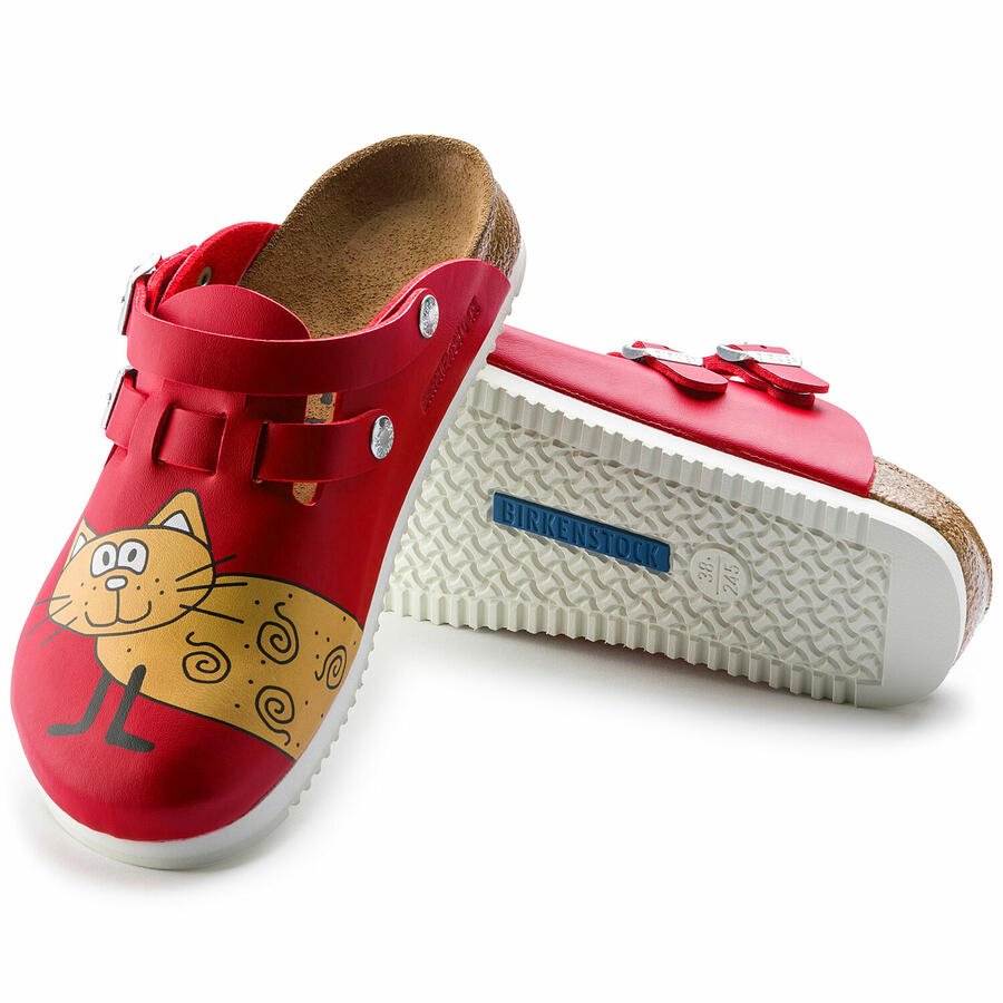 Birkenstock - Kay SL - Cat Red