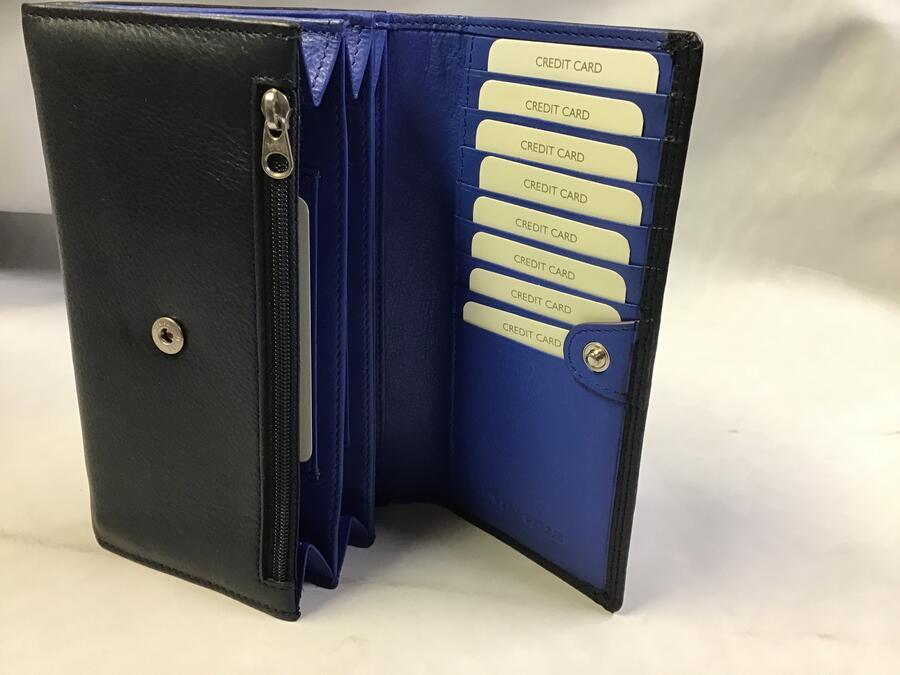Portafoglio Gilu Donna Blu/Blu elettrico