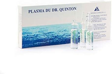 Plasma di Quinton ampolle fiale isotoniche