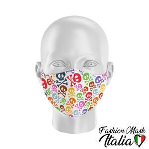 Fashion Mask Colored Skulls