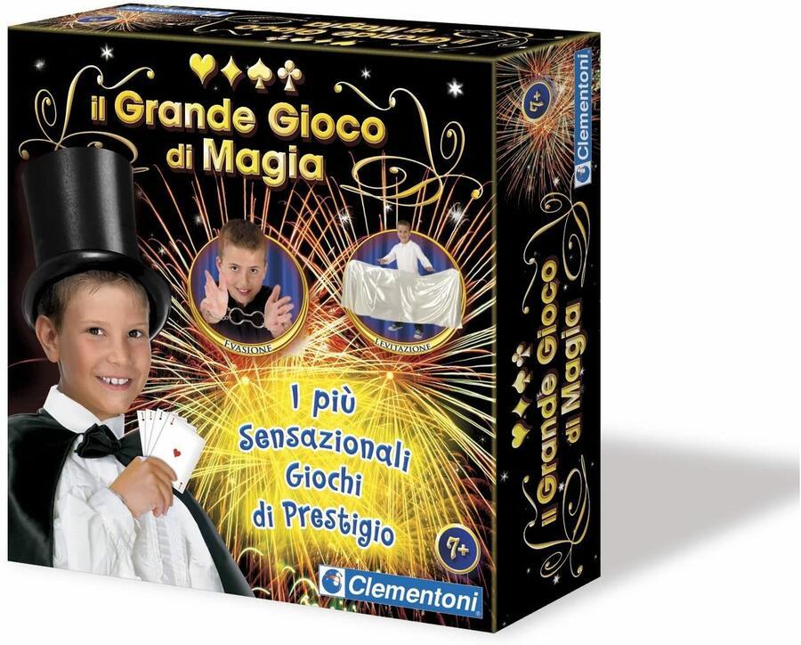IIl Grande gioco di Magia - Clementoni 13647 - 7+