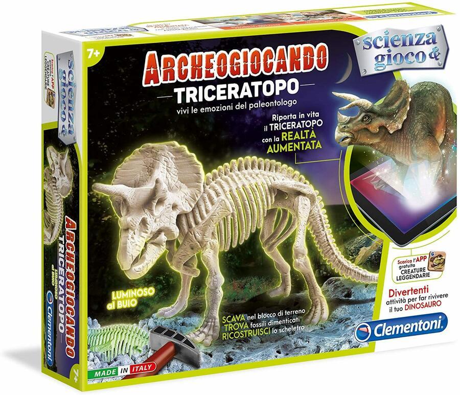 Scienza & Gioco - Archeogiocando Trinceratopo - Clementoni 13979 -7+ anni