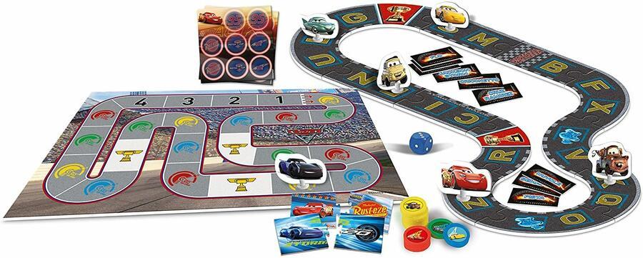 Cars - Giochi in Pista - Clementoni 11995 - 4+ anni