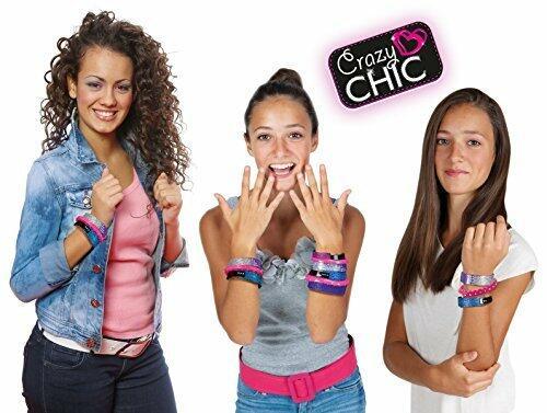 Crazy Chic - Braccialetti Scintillanti - Clementoni 15966 - 7+ anni
