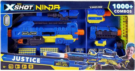 X-SHOT NINJA JUSTICE 4 DARDI MAGGIO 3 SRL