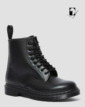 Dr Martens Anfibio 1460 Mono Smooth 14353001 black