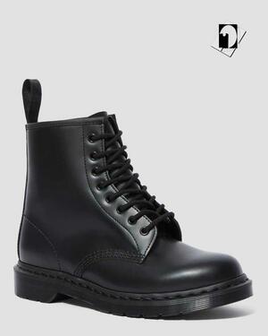 Dr Martens Anfibio 1460 Mono Smooth 14353001 black