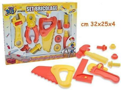 SCATOLA SET BRICOLAGE MR. BOY