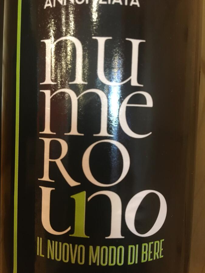 Numero1, Liquore amaro, Donna Annunziata, 70cl