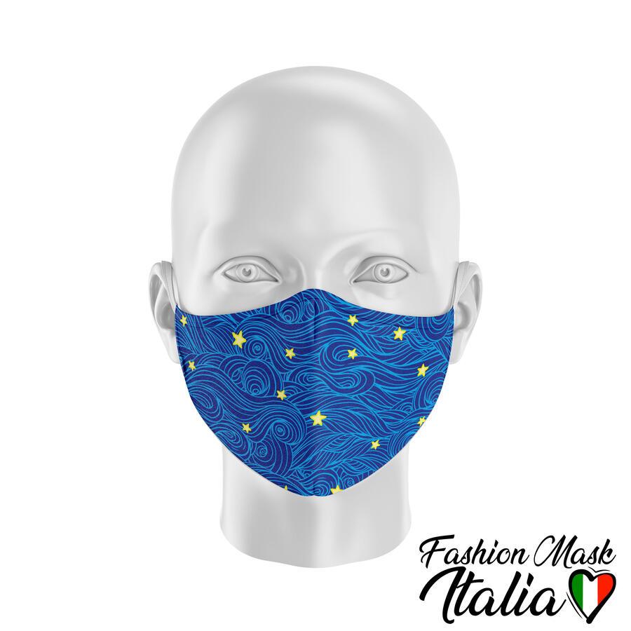 Fashion Mask Van Gogh Style