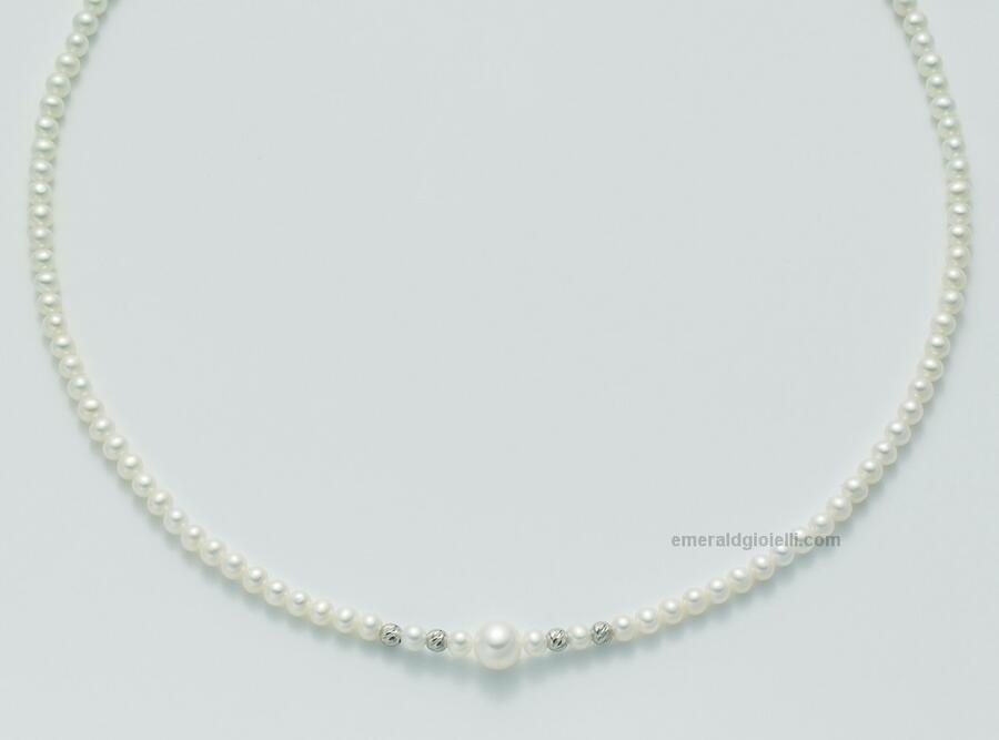 pcl3995x Girocollo di Perle Miluna -
