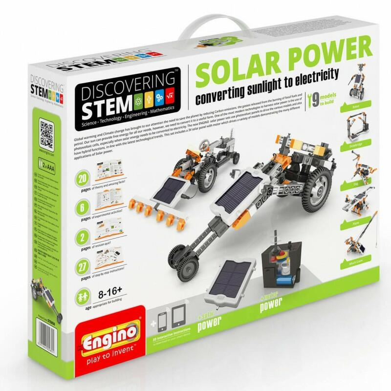 SOLAR POWER DISCOVERING SYSTEM ENGINO