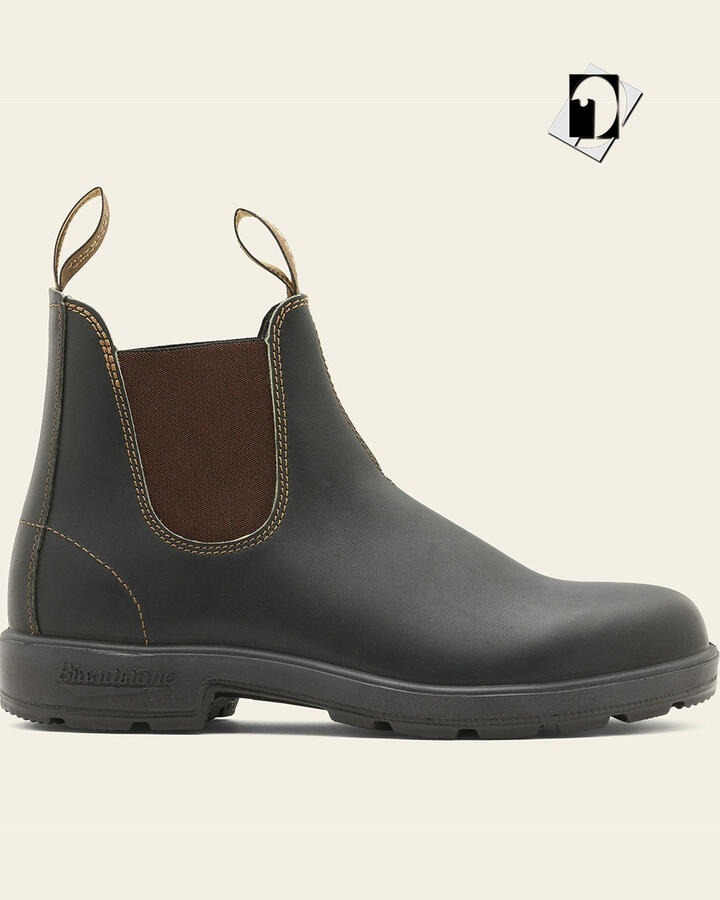 Blundstone 500 Chelsea Boots - Stout Brown