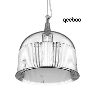Lampada a Sospensione Goblets Ceiling Medium di Qeeboo in Policarbonato, Varie Finiture - Offerta di Mondo Luce 24