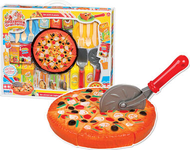 PIZZERIA GRAN FORNO PLAYSET GRANDE PIZZA PARTY RONCHI SUPERTOYS