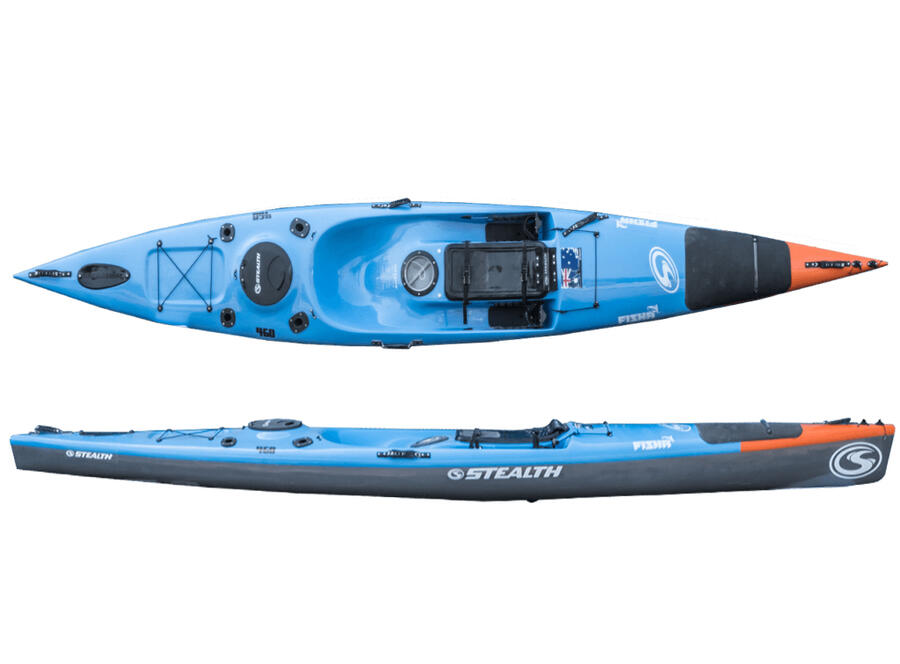 KAYAK FISHA 460 - STEALTH