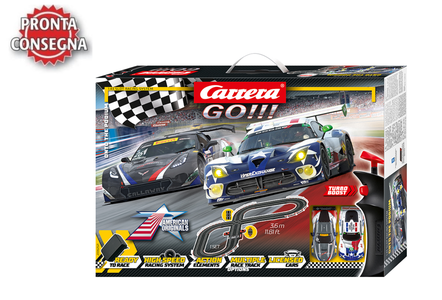 Autopista Elettrica Carrera GO!!! Onto the Podium - SRT Viper GT3 vs Chevrolet Corvette C7R GT3