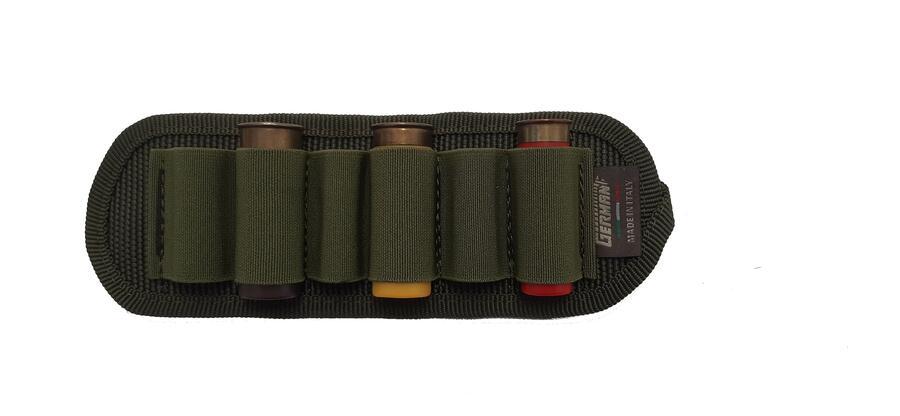 Porta cartucce da cintura, 6 celle elastiche