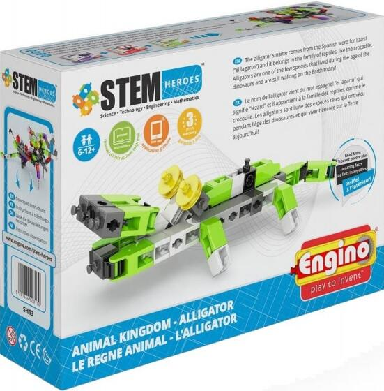 STEM HEROES REGNO ANIMALE ALLIGATORE ENGINO