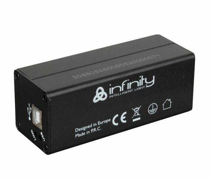 Infinity Chimp USB Dongle per ONPC 2 universi, 1 uscita DMX