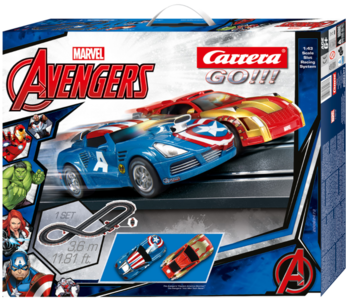Autopista Elettrica Carrera GO!!! Marvel The Avengers
