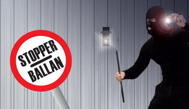 Kit antieffrazione stopper originale Basculanti STOPPER BALLAN spa kit  sicurezza antiladro per basculanti ballan