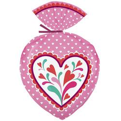 conf. 15 sacchetti per dolcetti cuore di San Valentino