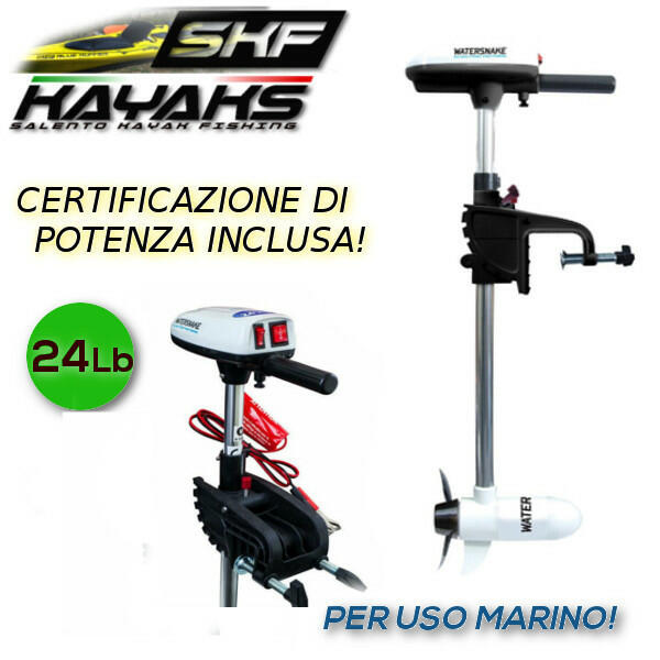 Motore Elettrico Watersnake T24 SW - Uso Marino