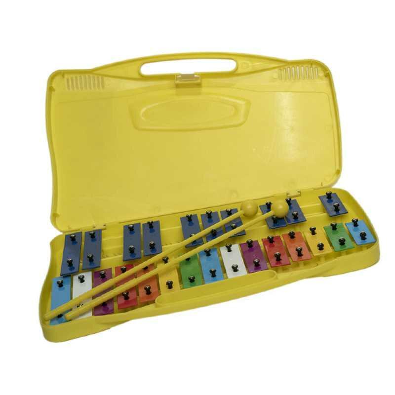 Glockenspiel metallofono con note colorate QPP-25