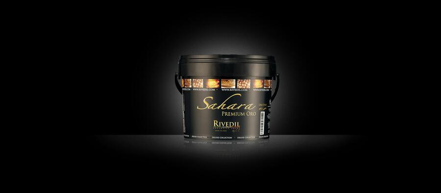 Decorazione Sahara premium Argento lt 2,5 Rivedil Made in Italy
