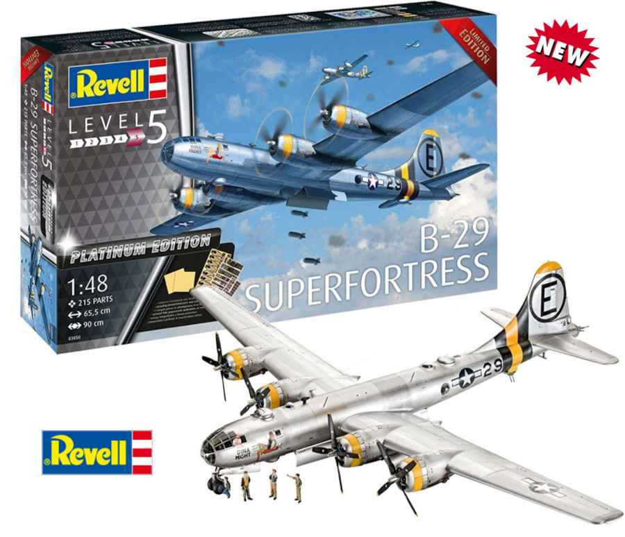 Aereo B-29 SUPERFORTRESS Platinum Edition di Revell