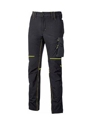 Pantalone World Black Carbon U power Taglie S-XXL