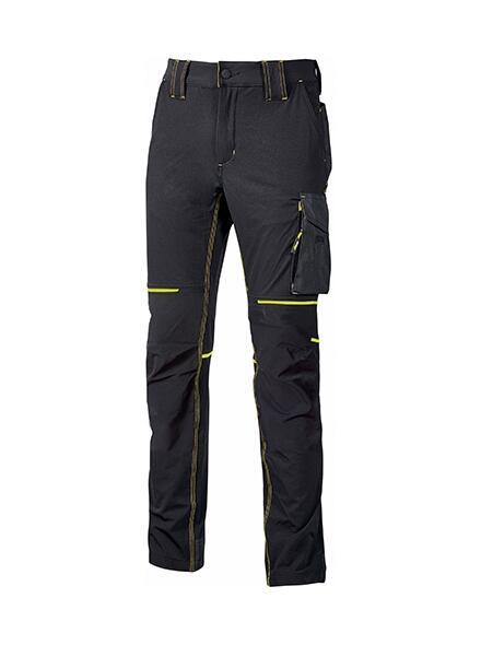 Pantalone World Black Carbon U power Taglie S-XXL