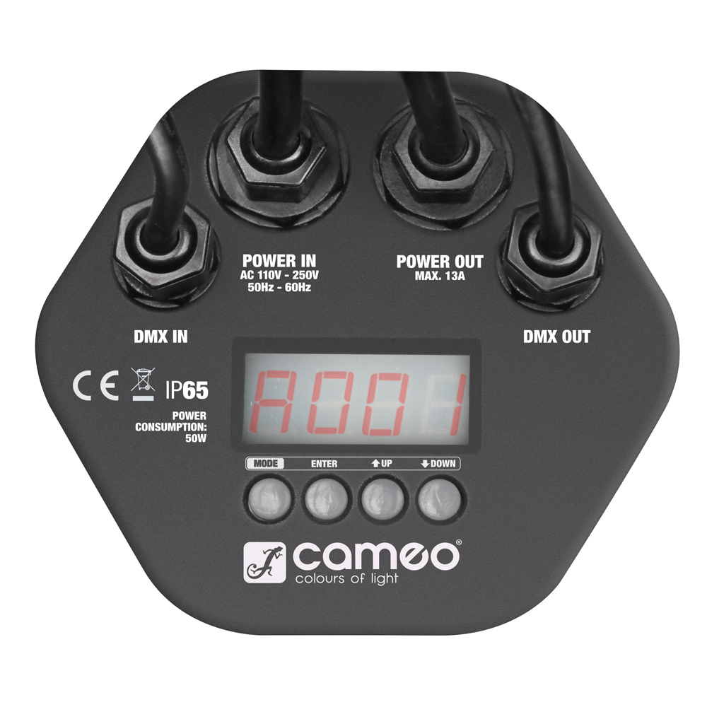 Cameo Outdoor PAR TRI 12 IP65