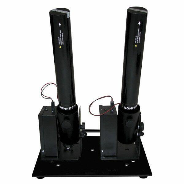 SHOWTEC FX SHOT BASEPLATE Per spari 1,2 o 4 pezzi FX