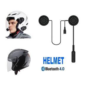 Cuffia auricolare HELMET bluetooth per casco interno interfono moto bici
