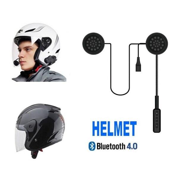 Cuffia auricolare bluetooth per casco interno interfono