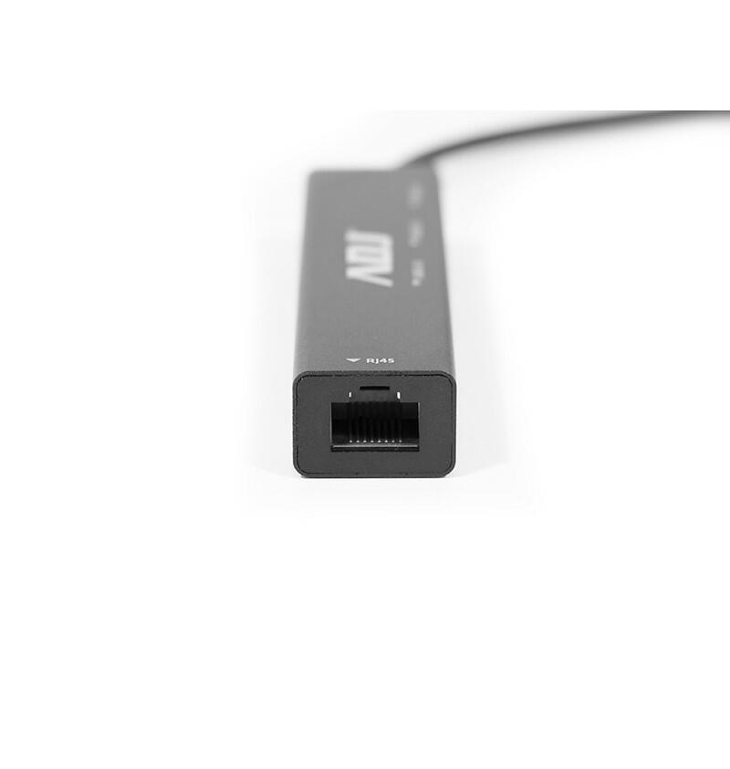 HUB HB020 DOCK TYPE-C MULTIPORT NERO ADJ