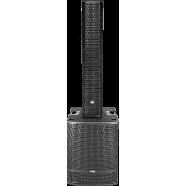 DAD BX15SA - Diffusore sub woofer attivo in classe D da 1000 W, 133dB SPL