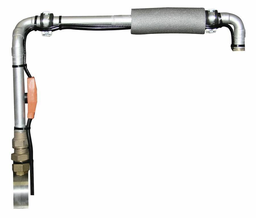 Cavo riscaldante con termostato 2 metri  protezione antigelo per tubature