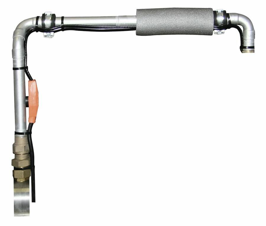 Cavo riscaldante con termostato 12 metri  protezione antigelo per tubature