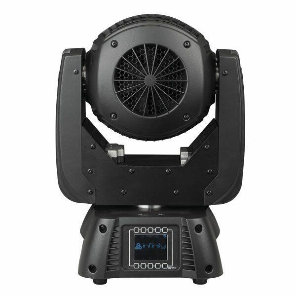 INFINITY IW-741 RDM Wash RGBW, Zoom elettronico