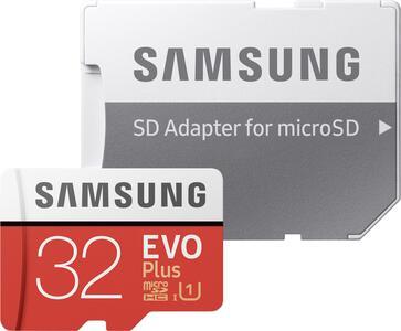 EVO PLUS MICRO SDHC UHS-I CARD 32 GB SAMSUNG