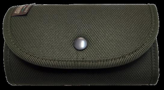 Giberna porta cartucce da cintura, 6 celle elastiche