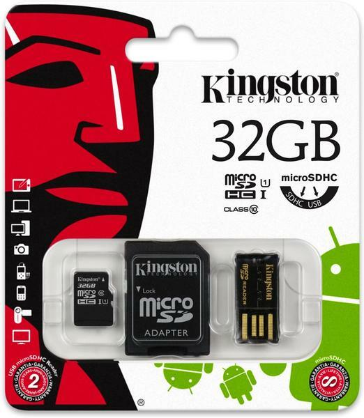 MBLY10G2/32GB MICRO SDHC CLASSE 10 MICRO - SD READER KINGSTON