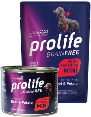 Cane Grain Free Manzo e Patate Prolife 100 gr