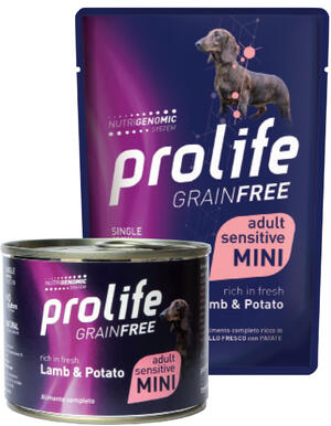 Cane Grain Free Agnello e Patate Prolife 100 gr